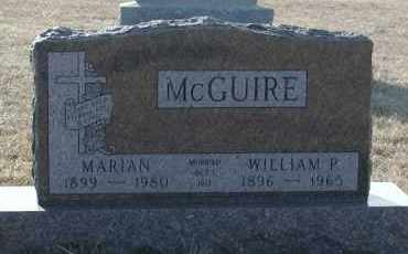 MCGUIRE, WILLIAM P - Union County, South Dakota | WILLIAM P MCGUIRE - South Dakota Gravestone Photos
