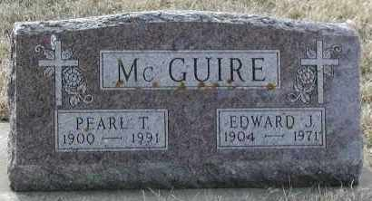 MCGUIRE, EDWARD J - Union County, South Dakota | EDWARD J MCGUIRE - South Dakota Gravestone Photos