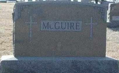 MCGUIRE, PLOT - Union County, South Dakota | PLOT MCGUIRE - South Dakota Gravestone Photos