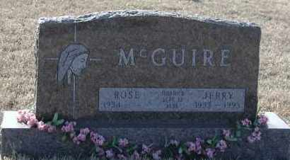 MCGUIRE, ROSE - Union County, South Dakota | ROSE MCGUIRE - South Dakota Gravestone Photos