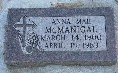 MCMANIGAL, ANNA MAE - Union County, South Dakota | ANNA MAE MCMANIGAL - South Dakota Gravestone Photos