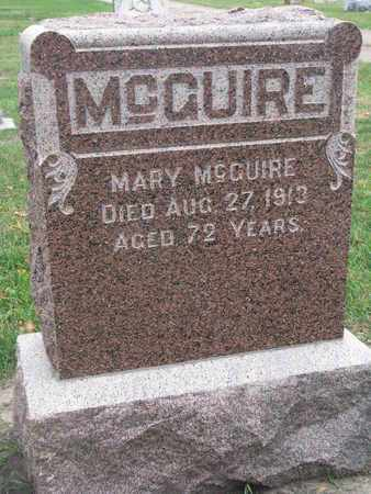 MCQUIRE, MARY - Union County, South Dakota | MARY MCQUIRE - South Dakota Gravestone Photos