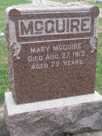 MCQUIRE, MARY - Union County, South Dakota   MARY MCQUIRE - South Dakota Gravestone Photos