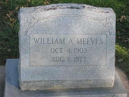 MEEVES, WILLIAM A. - Union County, South Dakota | WILLIAM A. MEEVES - South Dakota Gravestone Photos