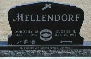 MELLENDORF, DOROTHY M - Union County, South Dakota | DOROTHY M MELLENDORF - South Dakota Gravestone Photos