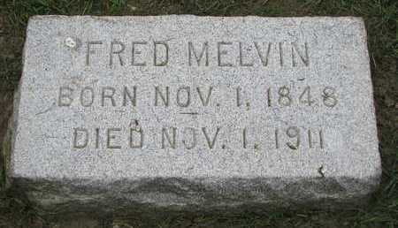 MELVIN, FRED - Union County, South Dakota | FRED MELVIN - South Dakota Gravestone Photos