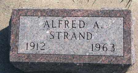 STRAND, ALFRED A. - Union County, South Dakota | ALFRED A. STRAND - South Dakota Gravestone Photos
