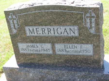 MERRIGAN, JAMES C. - Union County, South Dakota | JAMES C. MERRIGAN - South Dakota Gravestone Photos