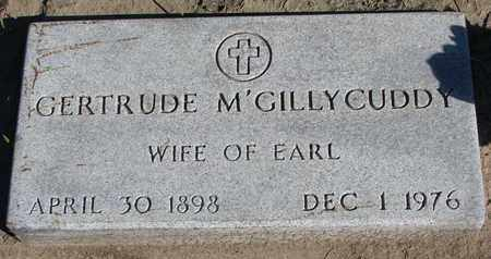 M'GILLYCUDDY, GERTRUDE - Union County, South Dakota | GERTRUDE M'GILLYCUDDY - South Dakota Gravestone Photos