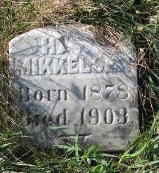 MIKKELSEN, HANS - Union County, South Dakota | HANS MIKKELSEN - South Dakota Gravestone Photos