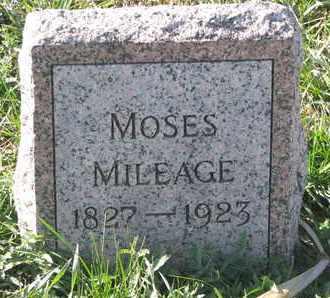 MILEAGE, MOSES - Union County, South Dakota   MOSES MILEAGE - South Dakota Gravestone Photos
