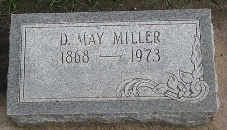 MILLER, D. MAY - Union County, South Dakota | D. MAY MILLER - South Dakota Gravestone Photos