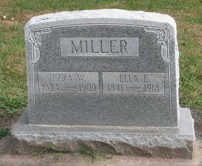 MILLER, EZRA W. - Union County, South Dakota | EZRA W. MILLER - South Dakota Gravestone Photos
