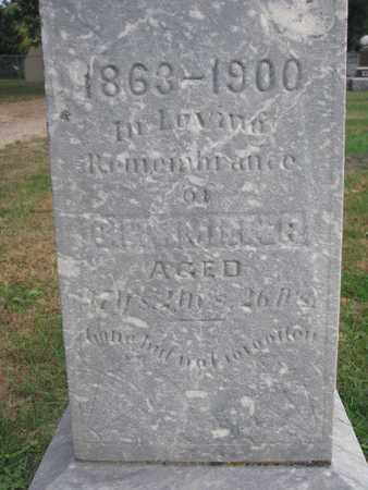 MILLER, C. L. (CLOSEUP) - Union County, South Dakota | C. L. (CLOSEUP) MILLER - South Dakota Gravestone Photos
