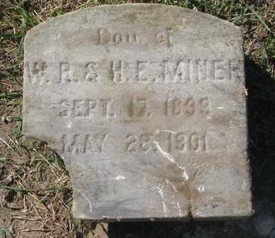 MINER, DAUGHTER - Union County, South Dakota   DAUGHTER MINER - South Dakota Gravestone Photos