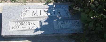 MINOR, GEORGANNA - Union County, South Dakota   GEORGANNA MINOR - South Dakota Gravestone Photos