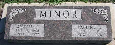 MINOR, SAMUEL J. - Union County, South Dakota | SAMUEL J. MINOR - South Dakota Gravestone Photos