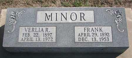 MINOR, FRANK - Union County, South Dakota | FRANK MINOR - South Dakota Gravestone Photos
