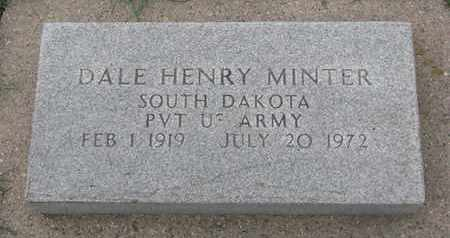 MINTER, DALE HENRY (MILITARY) - Union County, South Dakota | DALE HENRY (MILITARY) MINTER - South Dakota Gravestone Photos