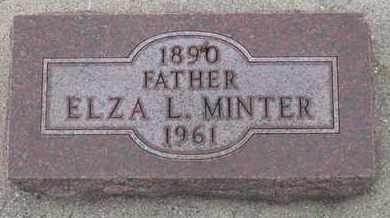 MINTER, ELZA L. - Union County, South Dakota   ELZA L. MINTER - South Dakota Gravestone Photos