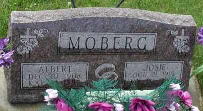 MOBERG, ALBERT - Union County, South Dakota | ALBERT MOBERG - South Dakota Gravestone Photos