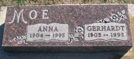 MOE, ANNA - Union County, South Dakota   ANNA MOE - South Dakota Gravestone Photos