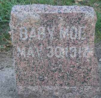 MOE, BABY - Union County, South Dakota | BABY MOE - South Dakota Gravestone Photos