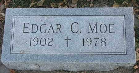 MOE, EDGAR C. - Union County, South Dakota | EDGAR C. MOE - South Dakota Gravestone Photos