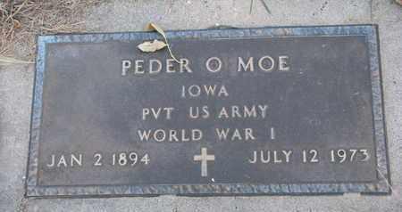 MOE, PEDER O. - Union County, South Dakota | PEDER O. MOE - South Dakota Gravestone Photos