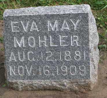 MOHLER, EVA MAY - Union County, South Dakota | EVA MAY MOHLER - South Dakota Gravestone Photos