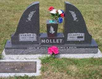 LARSON MOLLET, GLADYS L. - Union County, South Dakota | GLADYS L. LARSON MOLLET - South Dakota Gravestone Photos