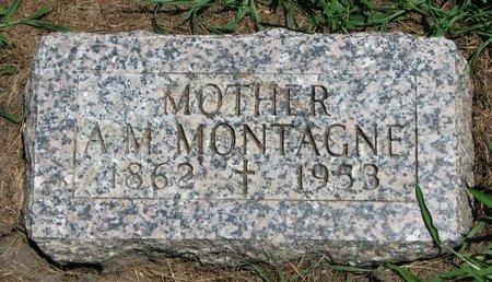 MONTAGNE, A.M. - Union County, South Dakota | A.M. MONTAGNE - South Dakota Gravestone Photos