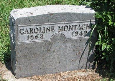 MONTAGNE, CAROLINE - Union County, South Dakota   CAROLINE MONTAGNE - South Dakota Gravestone Photos