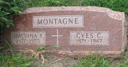 MONTAGNE, MALVINA R. - Union County, South Dakota | MALVINA R. MONTAGNE - South Dakota Gravestone Photos