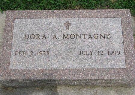 MONTAGNE, DORA A. - Union County, South Dakota | DORA A. MONTAGNE - South Dakota Gravestone Photos