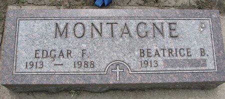 MONTAGNE, BEATRICE B. - Union County, South Dakota | BEATRICE B. MONTAGNE - South Dakota Gravestone Photos