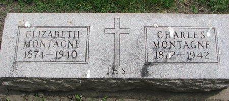 MONTAGNE, CHARLES - Union County, South Dakota | CHARLES MONTAGNE - South Dakota Gravestone Photos