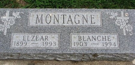 MONTAGNE, BLANCHE - Union County, South Dakota | BLANCHE MONTAGNE - South Dakota Gravestone Photos