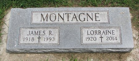 MONTAGNE, LORRAINE R. - Union County, South Dakota | LORRAINE R. MONTAGNE - South Dakota Gravestone Photos