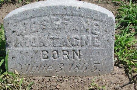 MONTAGNE, JOSEFINE - Union County, South Dakota | JOSEFINE MONTAGNE - South Dakota Gravestone Photos