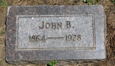 MONTAGNE, JOHN B. - Union County, South Dakota | JOHN B. MONTAGNE - South Dakota Gravestone Photos