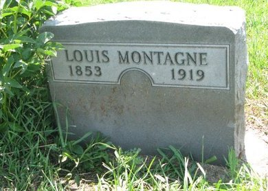 MONTAGNE, LOUIS C. - Union County, South Dakota | LOUIS C. MONTAGNE - South Dakota Gravestone Photos