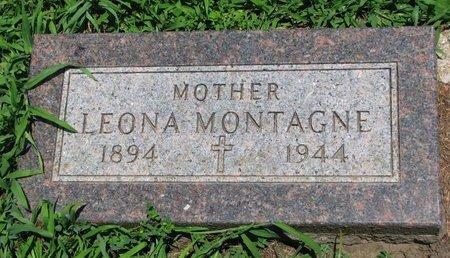 MONTAGNE, LEONA - Union County, South Dakota | LEONA MONTAGNE - South Dakota Gravestone Photos