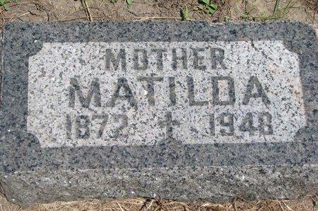 MONTAGNE, MATILDA - Union County, South Dakota | MATILDA MONTAGNE - South Dakota Gravestone Photos