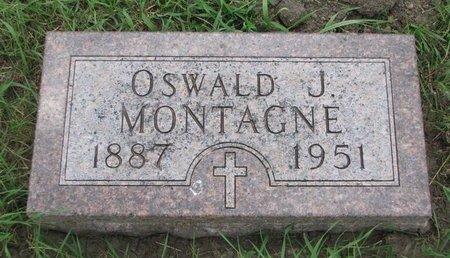 MONTAGNE, OSWALD J. - Union County, South Dakota | OSWALD J. MONTAGNE - South Dakota Gravestone Photos