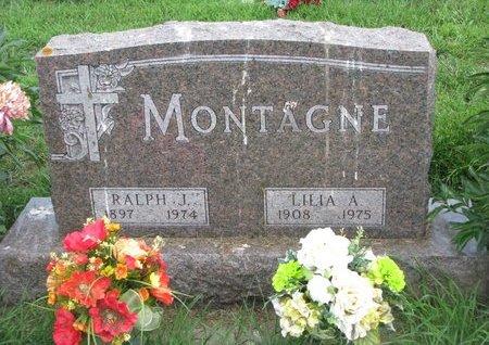 MONTAGNE, LILIA A. - Union County, South Dakota | LILIA A. MONTAGNE - South Dakota Gravestone Photos