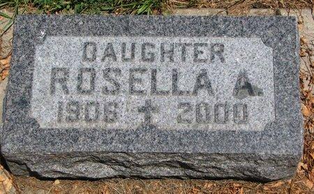 MONTAGNE, ROSELLA A. - Union County, South Dakota | ROSELLA A. MONTAGNE - South Dakota Gravestone Photos