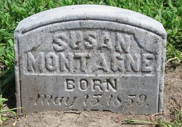 MONTAGNE, SUSAN - Union County, South Dakota | SUSAN MONTAGNE - South Dakota Gravestone Photos