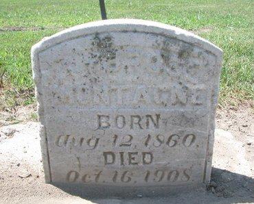 MONTAGNE, AMBROSE - Union County, South Dakota | AMBROSE MONTAGNE - South Dakota Gravestone Photos