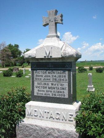MONTAGNE, VICTOR - Union County, South Dakota | VICTOR MONTAGNE - South Dakota Gravestone Photos